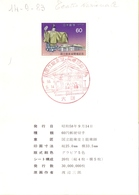 Opening Of  THE National NOH THEATER POSTAGE STAMP  (MAGG180493) - China