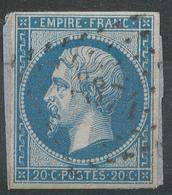 Lot N°42802  Variété/n°14B, Oblit PC 3374 Tonnerre, Yonne (83), Ind 3, Filets - 1853-1860 Napoléon III