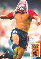 D33964 CARTE MAXIMUM CARD FD 2000 NETHERLANDS - SOCCER EUROPEAN CHAMPIONSHIP EURO 2000 CP ORIGINAL - UEFA European Championship
