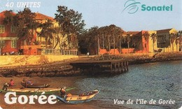 *SENEGAL* -  Scheda A Chip Usata - Senegal