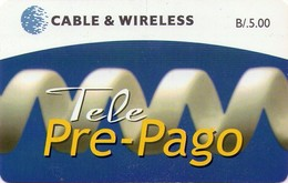 TARJETA TELEFONICA DE PANAMA (PREPAGO). TELE PRE-PAGO (005) - Panamá