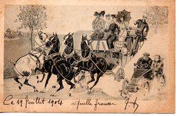Chevaux : Accident De Circulation - Pferde