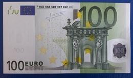 AUSTRIA 100 Euro 2002 Trichet  Letter N UNC  F002 C5 - 100 Euro
