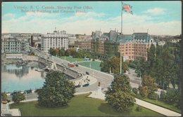 Post Office, Victoria, British Columbia, C.1920s - Coast Publishing Co Postcard - Victoria
