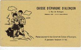 Mai18     81828.    Buvard    Caisse D'épargne D'alençon - Bank & Insurance