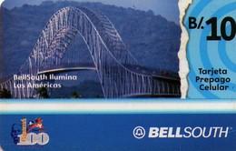 TARJETA TELEFONICA DE PANAMA (PREPAGO). BELLSOUTH ILUMINA LAS AMERICAS (017) - Panama