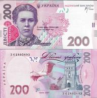 Ukraine 2007 - 200 Hryven - Pick 123 UNC (Signature - Stelmakh) - Ucrania