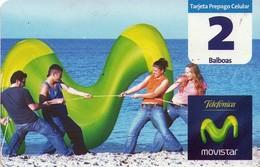 TARJETA TELEFONICA DE PANAMA (PREPAGO). MOVISTAR PLAYA (021) - Panama