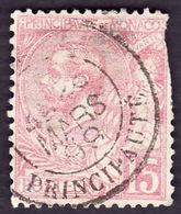 MONACO  1891 -  Y&T  15 - Prince Albert - 3° Choix - Monaco