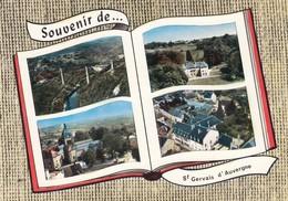 St-Gervais D'Auvergne.  Multivues - Saint Gervais D'Auvergne
