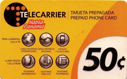 TARJETA TELEFONICA DE PANAMA (PREPAGO). TELECARRIER, HABLA PANAMA (022) - Panamá