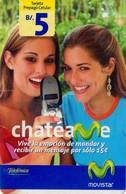 TARJETA TELEFONICA DE PANAMA (PREPAGO). CHATEAME, REVERSO PINTADO (023) - Panama