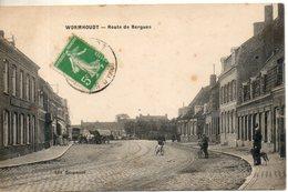 59. Wormhoudt. Route De Bergues - Wormhout