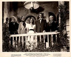 Grande Photo Originale De Promotion De Duel Au Soleil (Duel In The Sun) Western Américain 1946 Par King Vidor - Célébrités