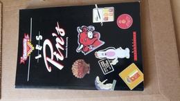 Livre  Les Pin's  1991 - Badges