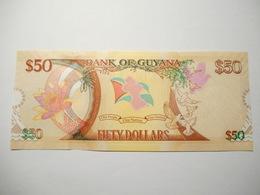 GUYANA 50 DOLLARS 2016 UNC - Guyana