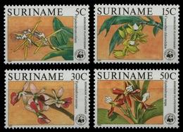 Surinam 1986 - Mi-Nr. 1166-1169 ** - MNH - Orchideen / Orchids - Surinam