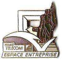 FT33 - ESPACE ENTREPRISE - Verso : DEMONS & MERVEILLES - France Telecom