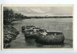 213629 IRAQ Baghdad Guffas Going Up Tigris Vintage Postcard - Iraq