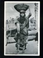 213630 IRAQ Baghdad Fisher Girl Vintage Postcard - Iraq
