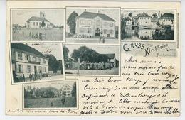 ALSACE - Gruss Aus KIRCHHEIM (1907) - Other Municipalities