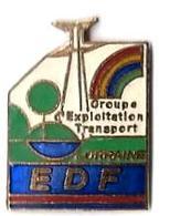 EG38 - EDF GROUPE EXPLOITATION TRANSPORT - LORRAINE - Verso : TEL.. - EDF GDF