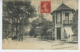 ARCACHON - Avenue De La Forêt Et Le Bureau De Postes (BOULANGERIE DUPUY ) - Arcachon
