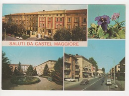 ^ SALUTI DA CASTEL MAGGIORE VIA GRAMSCI BOLOGNA AUTO CAR PANORAMA 260A - Bologna