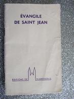 EVANGILE DE SAINT JEAN / MAREDSOUS / 1955 - Religion & Esotérisme