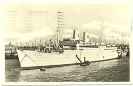 "M:S. "" GRIPSHOLM "" , Swedish American Line . Ca. 1950 - Steamers"
