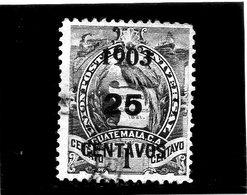 B - 1903 Guatemala - Stemma - Soprastampato - Guatemala