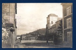 55. Saint-Mihiel. Carte-photo. Eglise St. Michel.  Feldpost Camouflé Mars 1917. Censure Metz - Saint Mihiel