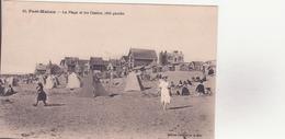 CPA - 13. FORT MAHON La Plage Et Les Châlets Côté Gauche - Fort Mahon