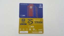 MEXICO - METRO - RECHARGEABLE CARD - 25 AÑOS FUNDACION UNAM - Abonos