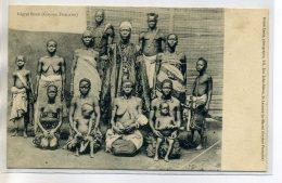 97 GUYANE Francaise  Carte RARE  Nègres BONIS Chefs Ses Femmes Et Enfants Poitrines Nues -Photog Désiré Lanes /D14-S2018 - Guyane