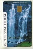 TK33742 GERMANY - O 049 07.93  Pohl Boskamp - Waterfall 10 000 Ex. - Germany