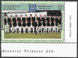 Grenadine/Grenadines: Specimen, Yorkshire County Cricket Club - Cricket