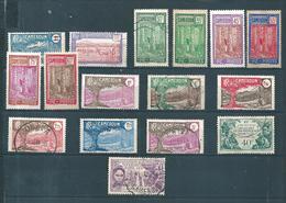 Colonie  Timbres Du Cameroun  De 1926/31 Entre   N°133 Et 150  Neufs *  Et Oblitérés Cote 39,20 € - Ungebraucht