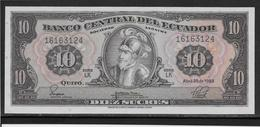 Equateur - 10 Sucres - Pick N°114 - NEUF - Ecuador
