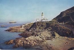 Postcard The Lighthouse Douglas Head Isle Of Man IOM PU 1964 My Ref  B22622 - Isle Of Man
