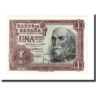 Billet, Espagne, 1 Peseta, 1953-07-22, KM:144a, NEUF - [ 3] 1936-1975 : Régence De Franco