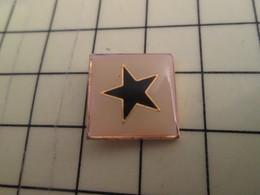Pin1515c  Pin's Pins / Rare Et De Belle Qualité AUTRES / ETOILE BLEUE SUR FOND BLANC - Celebrities