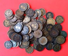 **  FRANCE  -  2 Francs CHAMBRE DE COMMERCE Bronze/Aluminium  /  LOT DE + 100 Pièces  ** - Francia