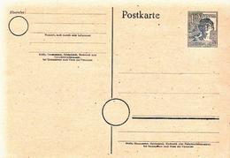 Germany Mint Postal Stationery Card ( Ganzsache) - Amerikaanse, Britse-en Russische Zone