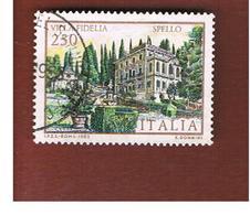 ITALIA REPUBBLICA  - SASS. 1651  -      1983  VILLE D' ITALIA: FIDELIA   -      USATO - 1946-.. République