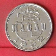 MACAU 1 PATACA 1992 -    KM# 57 - (Nº23041) - Macao