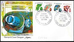 Australia/Australie: FDC, Minerali Diversi, Différents Minéraux, Different Minerals - Minerali