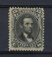 USA, Etats Unis, N° 28 * Gomme Diminuée ( Lincoln ) - Verenigde Staten