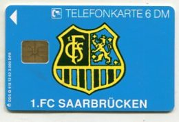 TK33763 GERMANY - O 418 12.92 1. FC Saarbrücken - Football 3 000 Ex. - Germany