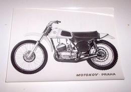 Motociclismo - Fotografia Pubblicitaria Moto CZ 125 - 1973 Scheda Tecnica - Unclassified